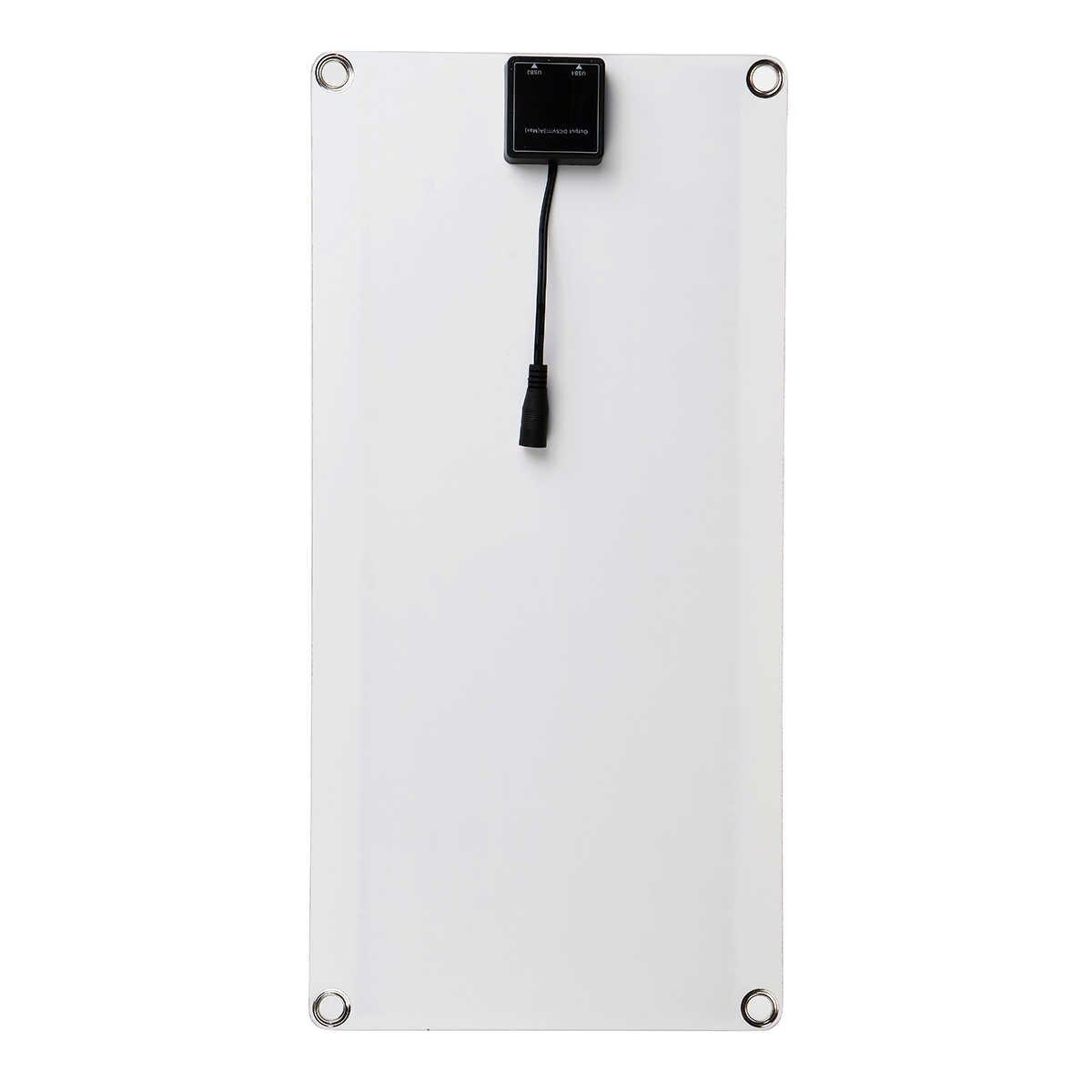 30W 18V ألواح الطاقة الشمسية المحمولة مزدوج USB قوة البنك مجلس بطارية خارجية شحن الخلايا الشمسية مجلس كروكودايل شاحن سيارة