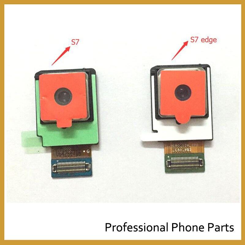 imágenes para 100% original volver trasero módulo de la cámara cable de la flexión para samsung galaxy s7 g930 s7 edge g935 cámara trasera de alta calidad