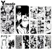 Yinuoda Black White Naruto TPU Soft Phone Accessories Cell Phone Case for Apple iPhone 8 7 6 6S Plus X XS MAX 5 5S SE XR Cover yinuoda animals dogs dachshund soft tpu phone case for apple iphone 8 7 6 6s plus x xs max 5 5s se xr mobile cover