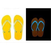 2017 Xpress Lumineux couple de hommes et femmes en été slip sandales sauvage lumineux plage pantoufles W587