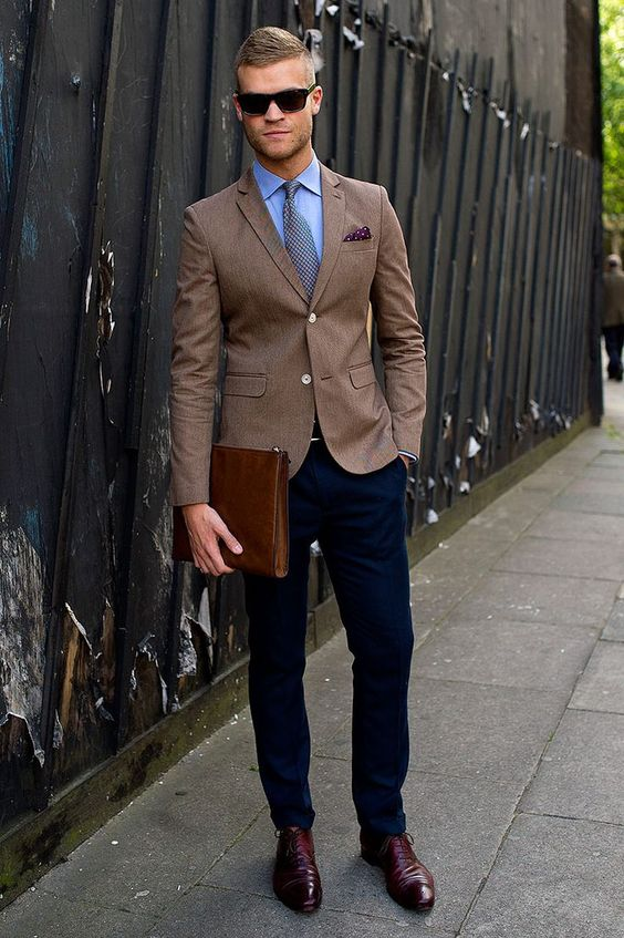 Popular Mens Brown Blazers-Buy Cheap Mens Brown Blazers lots from ...