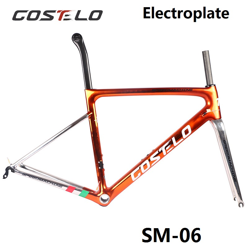 3,0 Costelo Speedmachine 790 ультра легкий 2018 г карбоновая шоссейная велосипедная Рама Costelo велосипедная bicicleta рама из углеродного волокна дешевая рама