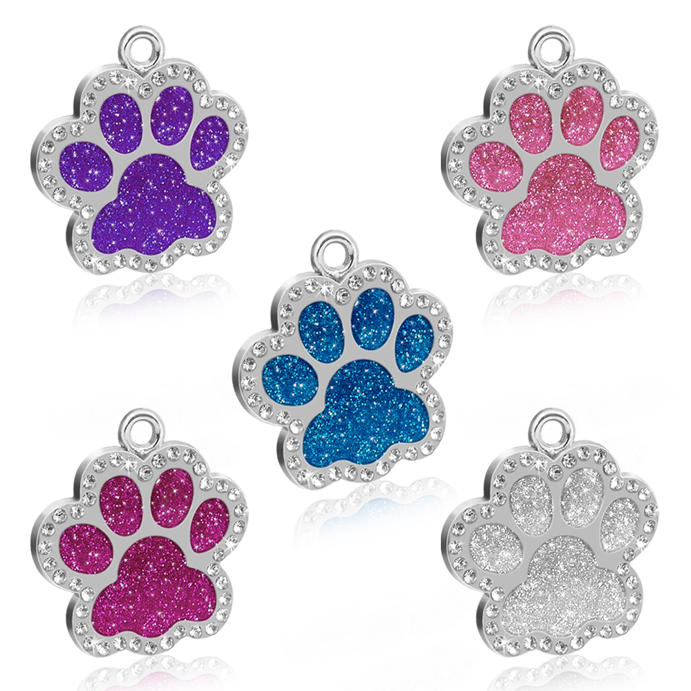 Custom Cat ID Tag Personalized Cat Name Tag Pendant Collar Engraved Cats Kitten Name Plate Accessories