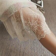Лолита Принцесса миди Тюлевая юбка плиссированная юбка-пачка для танца Женская Нижняя юбка Jupe Saia Faldas Кружевная Сетка эластичная талия женские юбки