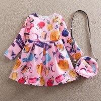 어린이 소녀 공주 드레스 어린이 의류 어린이 드레스 봄