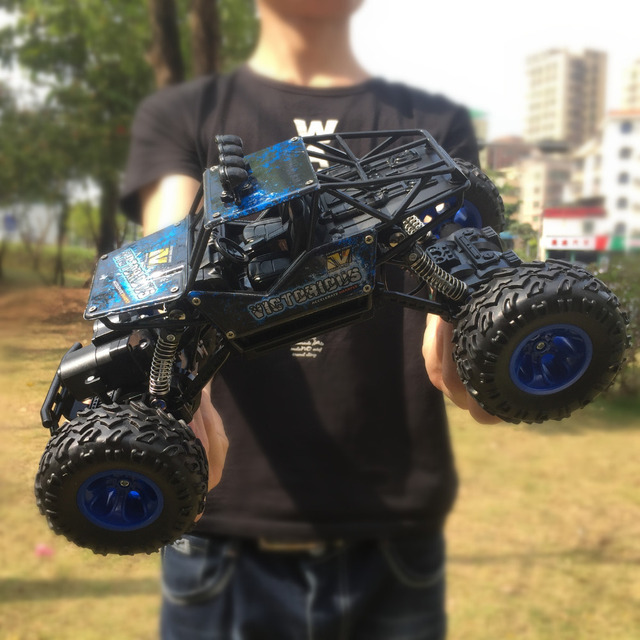 1/16 RC Car 4WD 2.4GHz Radio Control High Speed Off-Road Monster Truck Toys Buggy Vehicle Kids Christmas Children Suprise Gift 3