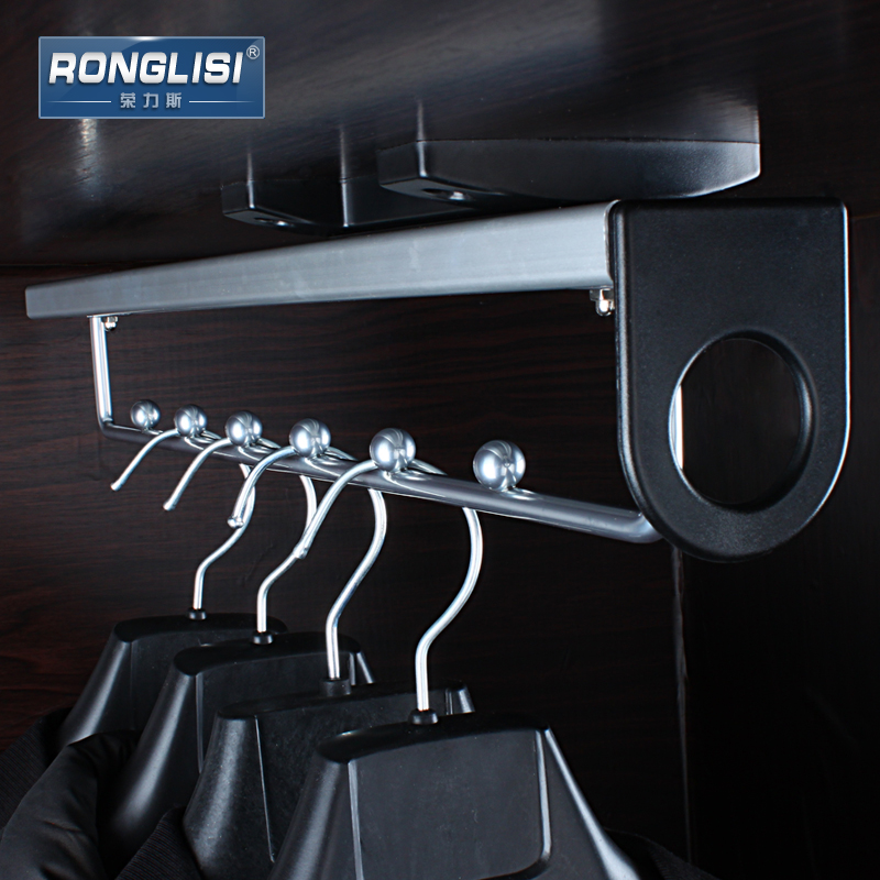 Rongli Adams Top Loading Wardrobe Hanger Cloakroom Clothes Hanger  Accessories Telescopic Clothes Hanging Rod Hanging Closet In Tool Parts  From Home ...