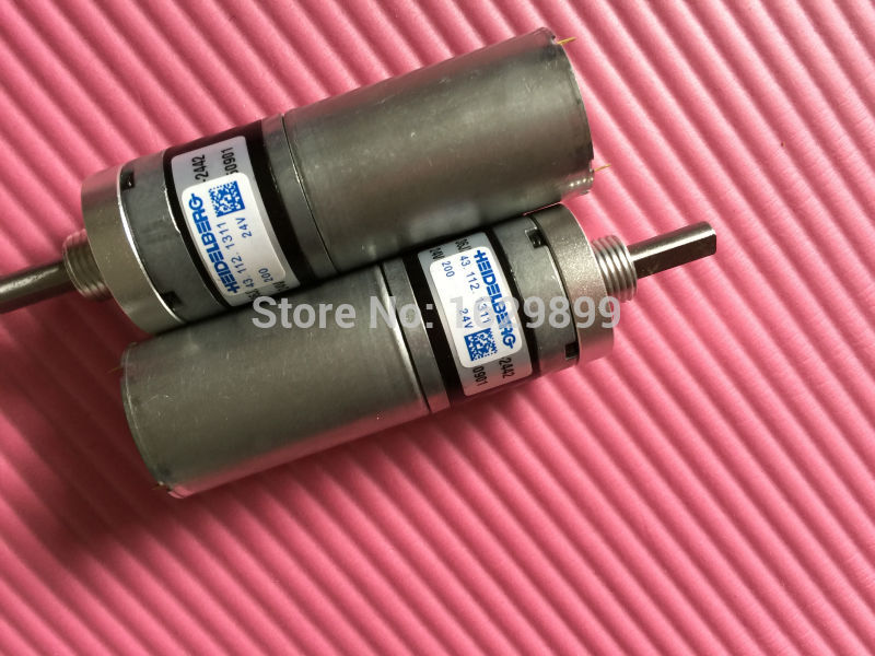 2 pieces free shipping GTO machine suction drum motor 43.112.1311 24V2 pieces free shipping GTO machine suction drum motor 43.112.1311 24V