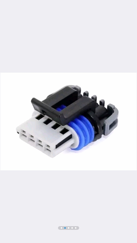 DJ7044YA 1 5 21 PA66 4 pin ignition coil connector pug set for LS2 LS3 LS7 dj7044ya 1 5 21 pa66 4 pin ignition coil connector pug set for ls2