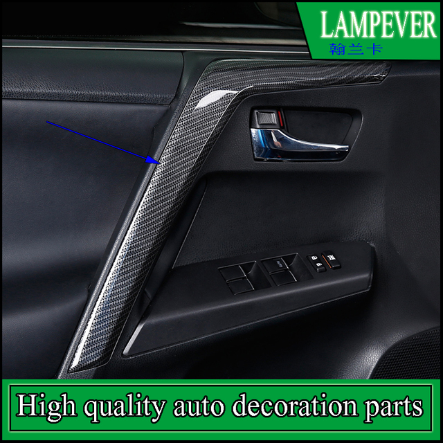 Car styling Door Handrail Cover Trim For Toyota RAV4 RAV-4 2014-2016 Interior  sc 1 st  AliExpress.com & Car styling Door Handrail Cover Trim For Toyota RAV4 RAV 4 2014 2016 ...