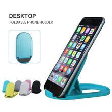 Portable Foldable Desktop Cell Phone Holder Adjustable Universal Multi-Angle Cradle for Tablet iPad Stand Rack