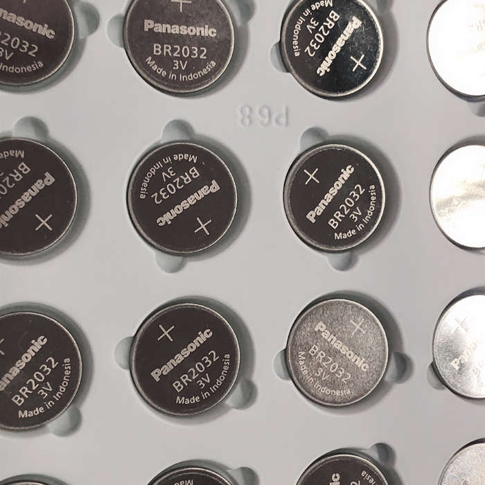 10pcs/lot New Original <font><b>Panasonic</b></font> 3V BR2032 Battery BR <font><b>2032</b></font> High temperature Button Coin Cell Battery Batteries image