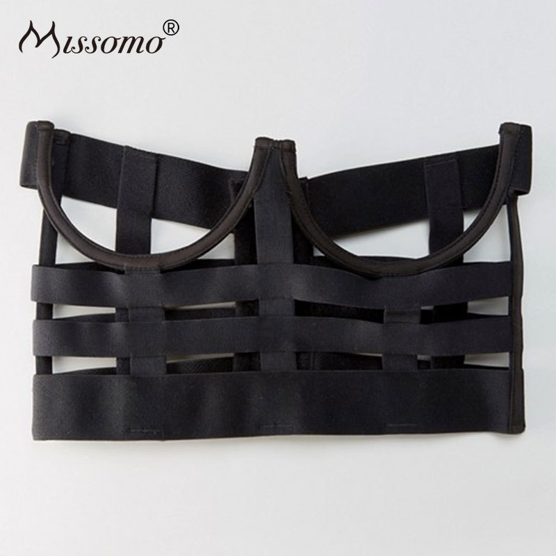 Missomo Strap Hollowed Out Decorative Bras Sexy Push Up Top s