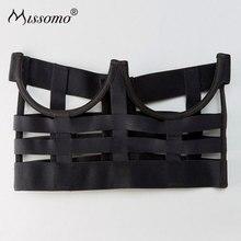 Missomo Strap Hollowed Out Decorative Bras Sexy Push Up Top Bralette Underwear 2018 New Women Fashion Lingerie