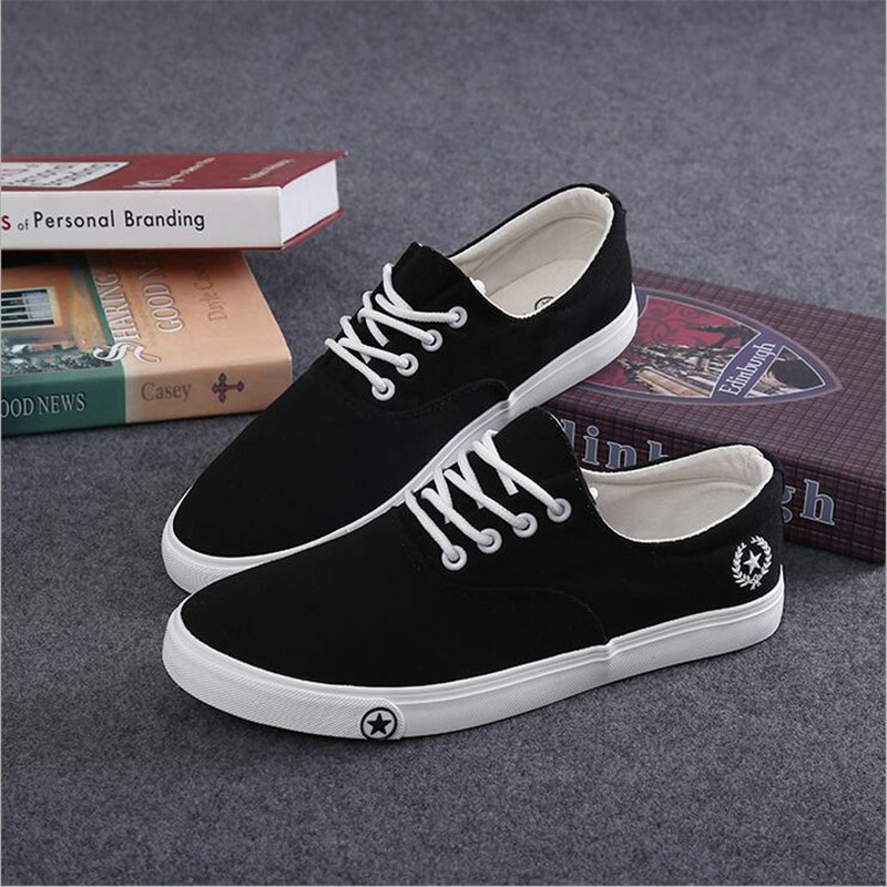7f087883c8c2 2016 new spring summer Men s casual shoes breathable fashion men canvas  shoes man flats  681-in Men s Casual Shoes from Shoes on Aliexpress.com