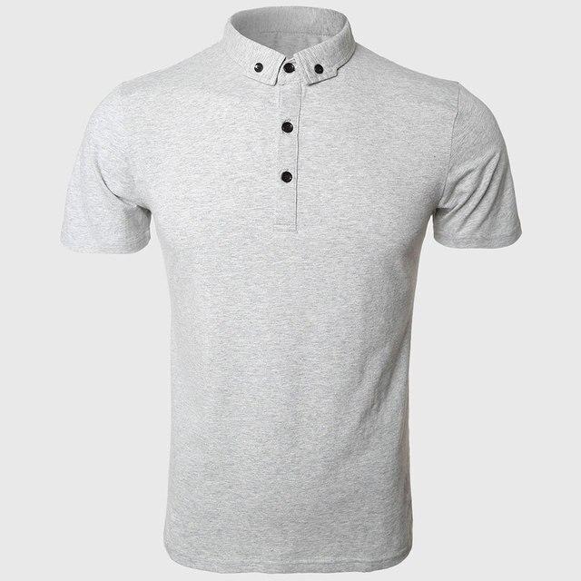 Polo Shirt Мужчины Мужской Polo Рубашки Человек С Коротким Рукавом Polo Лето Обычная Твердые Классический Социальное Носить