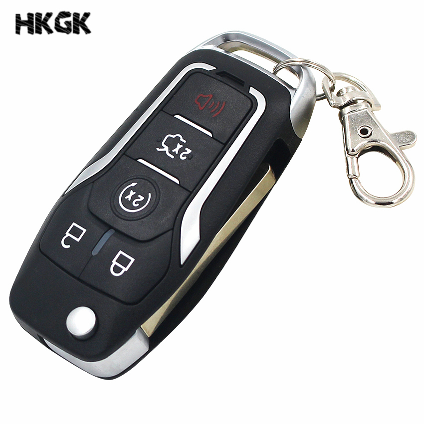 Orginal 5 BUTTON new remote Smart Key Entry Fob M3N A2C31243300 For ford 49chip 902MHZ