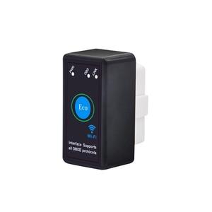Image 2 - 2019 Hot ELM327 OBDII OBD2 V1.5 WiFi Car Diagnostic Wireless Scanner Tool Car Accessories ELM327 V1.5  M8617