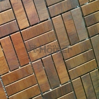 送料無料本ブロンズモザイクタイル壁装材真鍮モザイクタイル用浴室太陽ルームキッチン廊下壁タイル