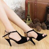 Latin Dance Shoes Sports Comfort Women Adult Dance Shoes Woman Samba Shoes Soft Bottom Ballroom Rumba Women Shoes Bullfight