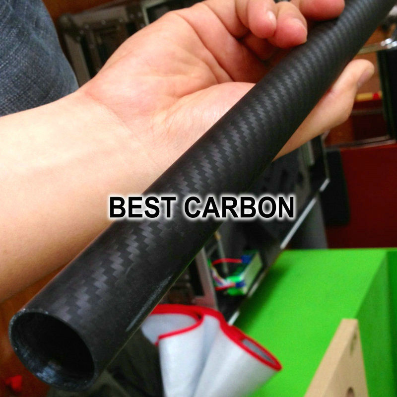 무료 배송 2pcs x 25mm x 23mm x 2000mmm 고품질 3 k 탄소 섬유 직물 상처 튜브-에서부품 & 액세서리부터 완구 & 취미 의  그룹 2