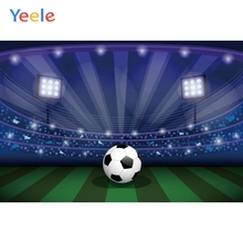 Yeele Football Games Scene Flash Lights Stadium Stage Portrait Photography Backdrops Photographic Backgrounds For Photo Studio sport football game vinyl photography backdrops digital printing for photo studio portrait photographic background s 1167