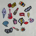 1pcs sell high quality mixture sell patch hot melt adhesive applique embroidery patch DIY clothing accessory patch C413-C431