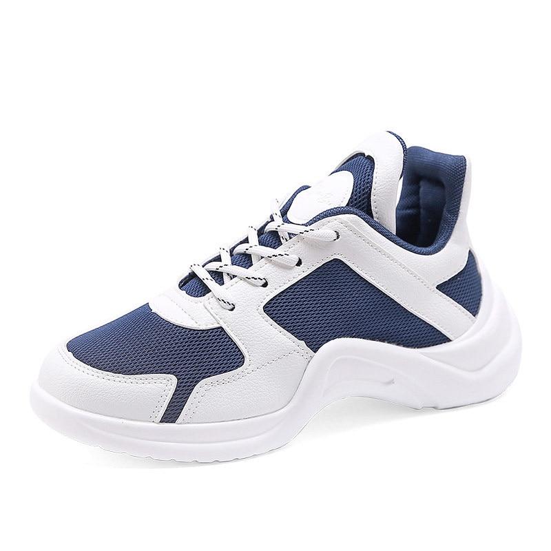 1 Chaussures Maille Sneakers Femmes Pour Blanc Sangles Casual Fille Respirant Jeunes 2 Doux Croisées Mode 2018 Plates Automne De Marque qUxUBpv