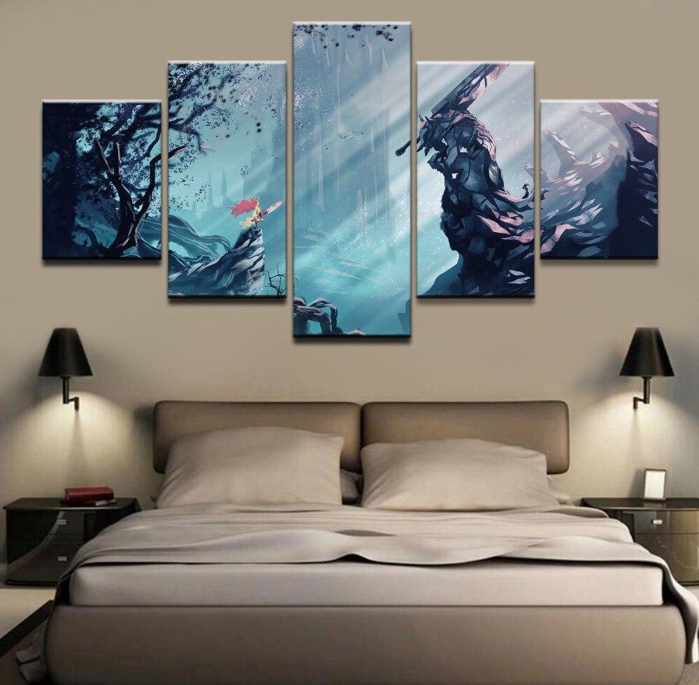 Modern Canvas Hd Print Wall Art Modular Poster Home