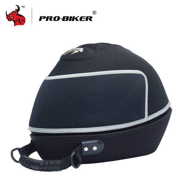 PRO-BIKER Motorcycle Bag Moto Helmet Bag  Motorbike Travel Multifunction Tool Tail Bag Handbag Luggage Carrier Case 5