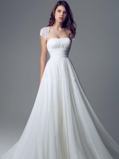 Online Buy Wholesale plain wedding gowns from China plain wedding ...