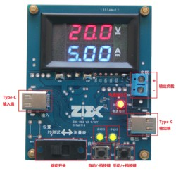 TYPE-C PD-TESTER TypeC PD Adapter / Rechargeable Treasure /dongle Test Fixture V3.1