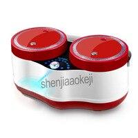 Smart mini рисоварка автоматический 2L * 2 бытовой двойной желчи назначение многофункциональный горшок две кастрюли посуда, электрический 220 В 700