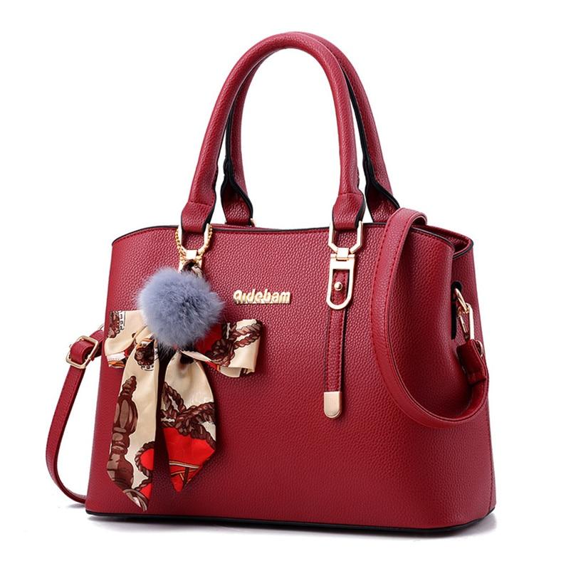 bfd5d033acea ... Nevenka Leather Handbag Women Purses and Handbags Female Crossbody Bag  for Women Summer Beach Bag Luxury ...
