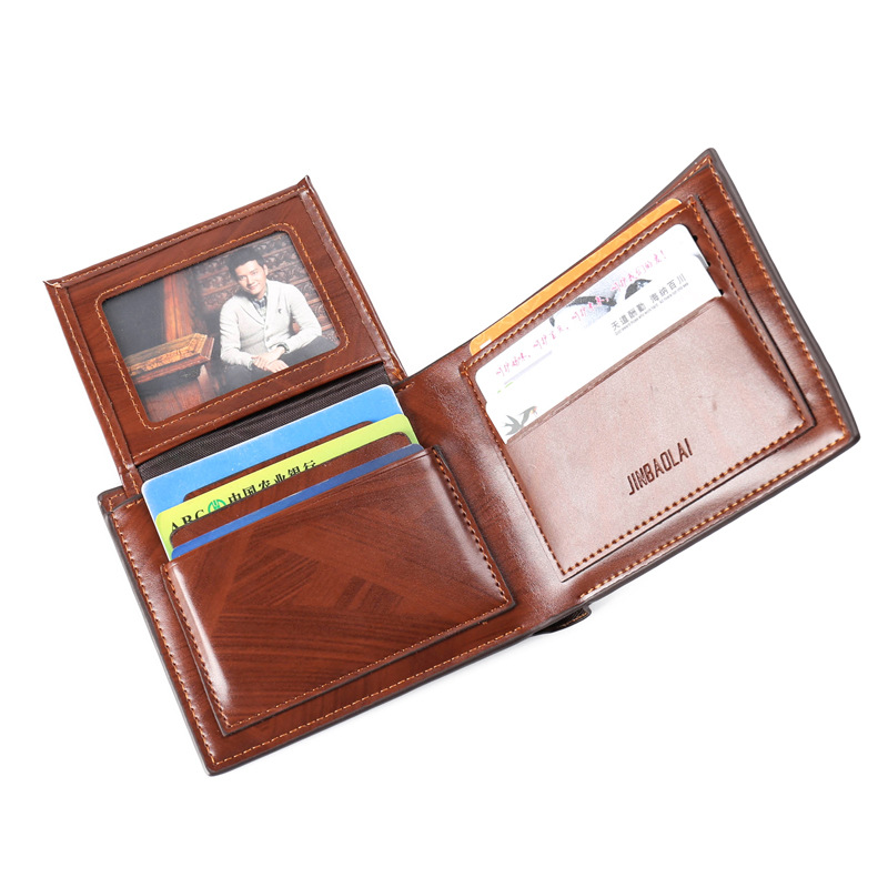 Men Wallets Short Vintage Male Purse Card Holder PU Leather Casual for Men Money Credit Purse Vertical Cross Coin Wallet Small цена