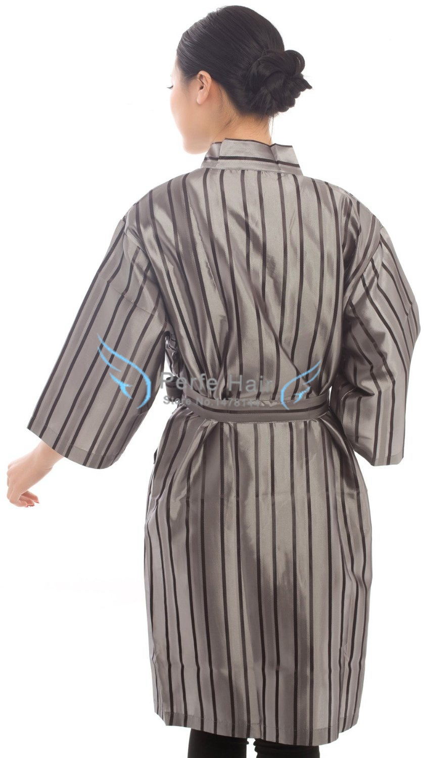 Online Shop Salon Client Gown Hairdressing Gowns Kimono Style- 43 ...