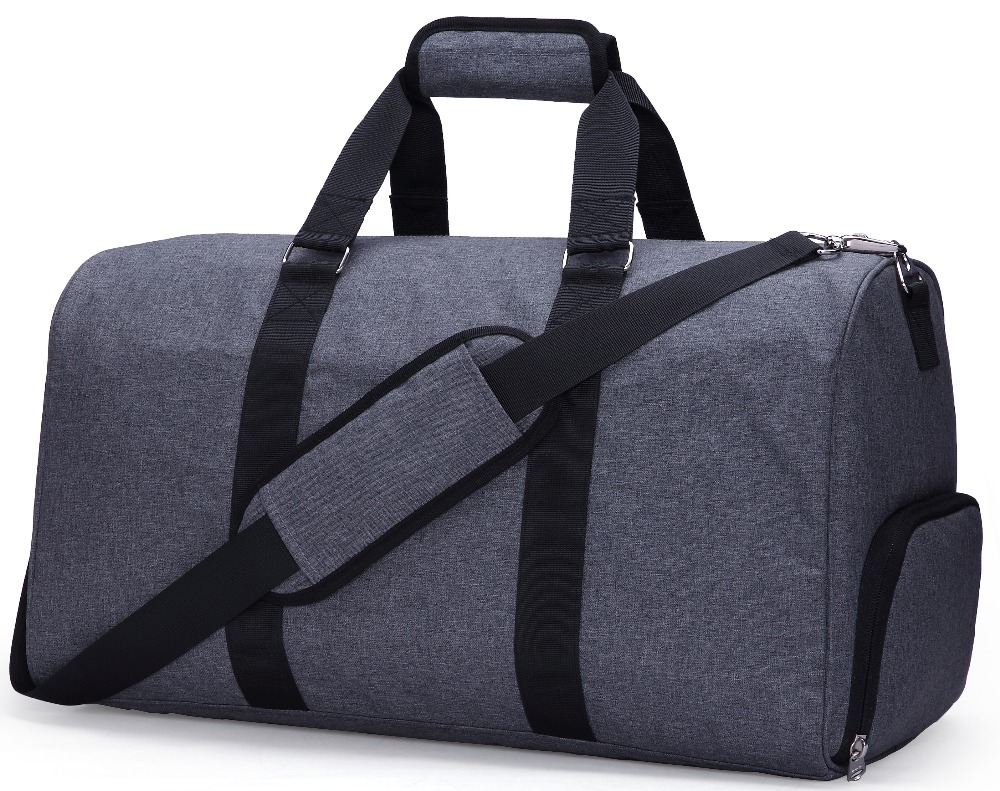 MIER Travel Duffel Bag for Men and Women with Shoe Compartment, Carry On Size, 20inches, Sets of 2(Large and Small) doershow shoe and bag to match italian african shoe and bag sets women shoe and bag to match for parties african shoe htx1 18