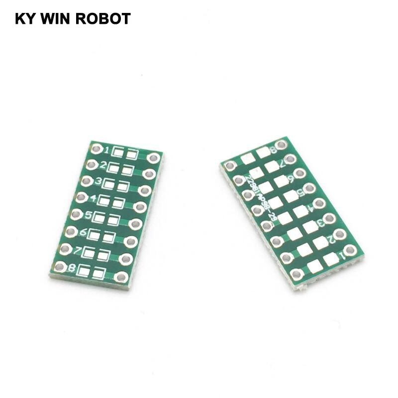 10 шт./лот 0805 0603 0402 SMT поворотный конденсатор резистор LED IC адаптер разъем PCB