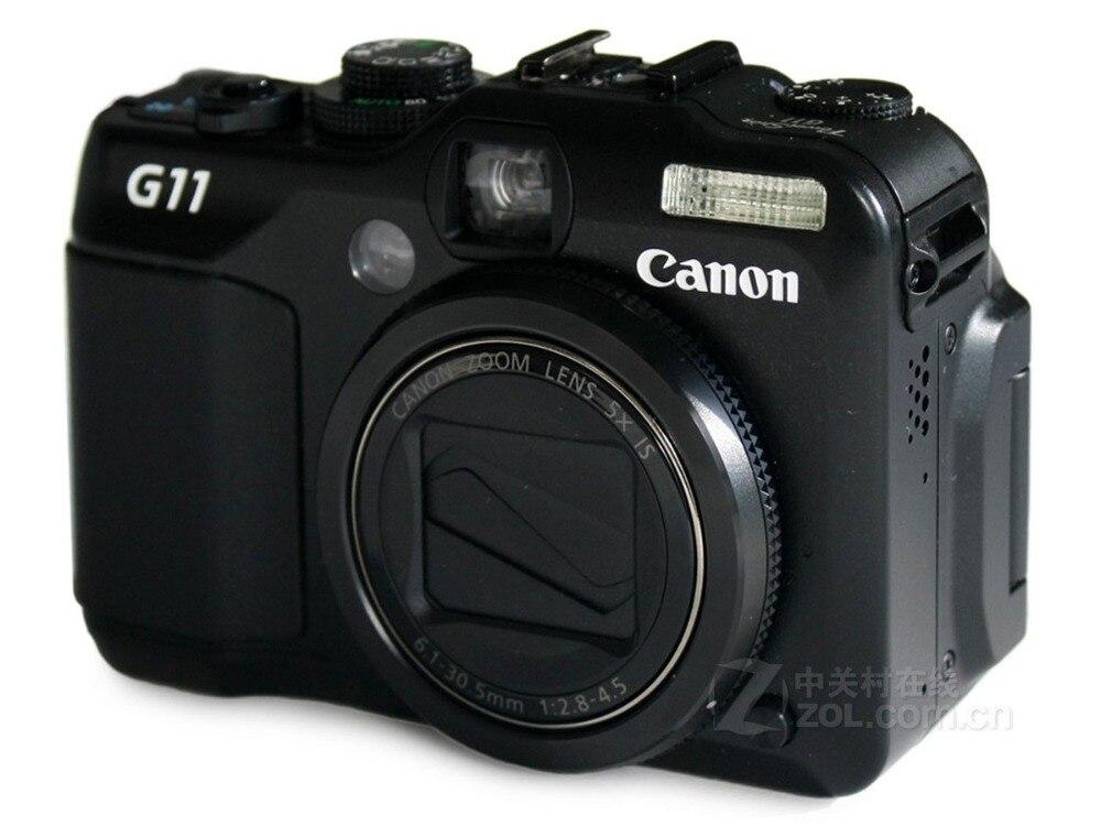 Usado, Canon G11 cámara Digital óptica anti-jitter 10,4 millones de píxeles Mini cámara para niños, juguetes educativos para niños, regalos para bebé, cumpleaños, cámara Digital de regalo, proyección de 1080P, videocámara