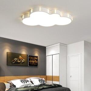 Image 2 - Nieuwe Ultra Dunne Led Plafond Verlichting Kinderkamer Studeerkamer Afstandsbediening Moderne Plafondlamp Plafonnier Led Avize Glans
