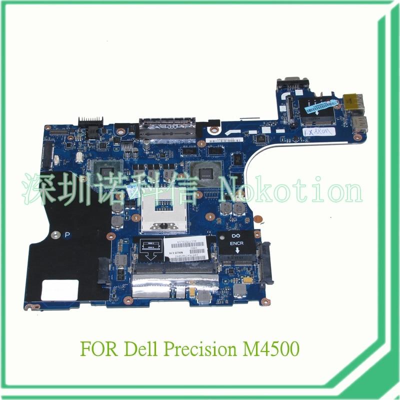 NAL22 LA-5573P Rev 1.0 for Dell precision M4500 laptop motherboard CN-058R56 QM57 nvidia FX880M 1GB graphics