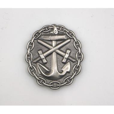 EMD WWI German Naval Wound Badge In Silver2