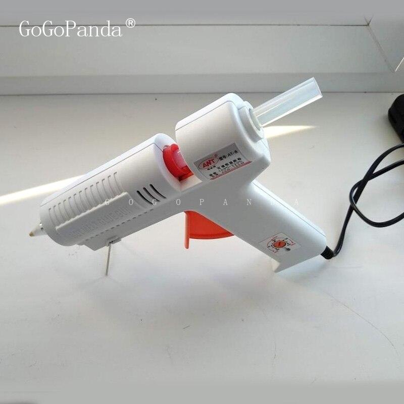 Livraison gratuite (10 pièces/lot) Non toxique Transparent 11mm X190mm colle thermofusible bâtons pour bricolage