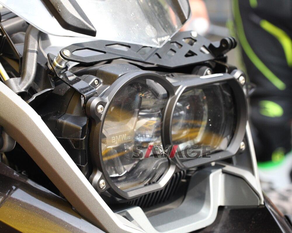Couvercle de protection de phare avec fixation rapide pour BMW R 1200GS LC/R1200GS Adventure 13-17 accessoires de moto