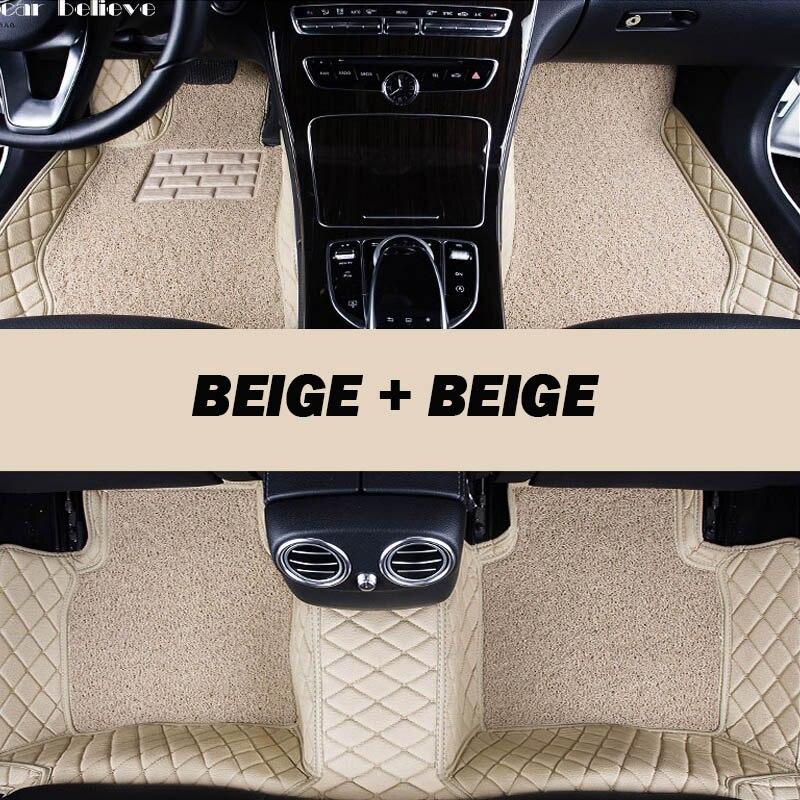 Voiture Crois Auto voiture tapis de sol Pied tapis Pour peugeot 308 206 508 5008 301 2008 307 207 3008 2012 étanche de voiture accessoires style