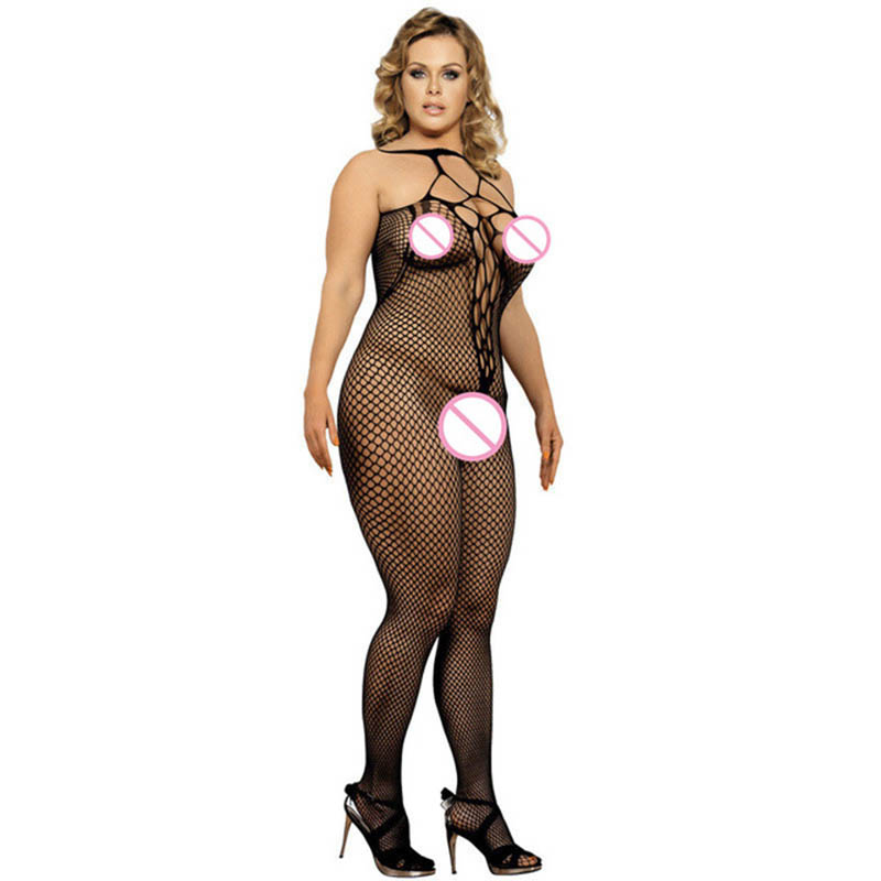 Buy Sheer Erotic Sexy Womens Lace Floral Lingerie Babydoll Teddy Bodysuit Latex Catsuit Body stocking Clubwear Porn Underwear
