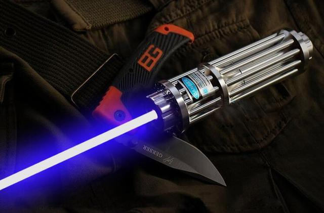 high power 200000m 450nm blue laser pointer multi pattern powerful