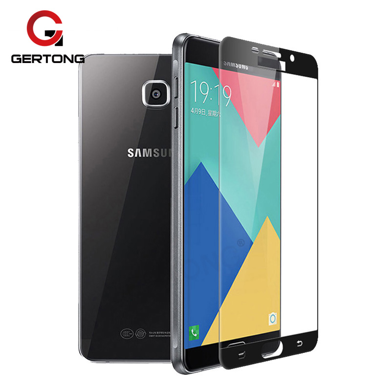 Penuh Penutup Kaca Tempered Untuk Samsung Galaxy A5 2016 J5 J3 J7 A3 2017 A7 A8 Ditambah 2018 Catatan 4 5 Colorful Screen Protector Film