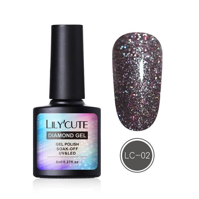 LILYCUTE 8ml Soak Off UV Gel