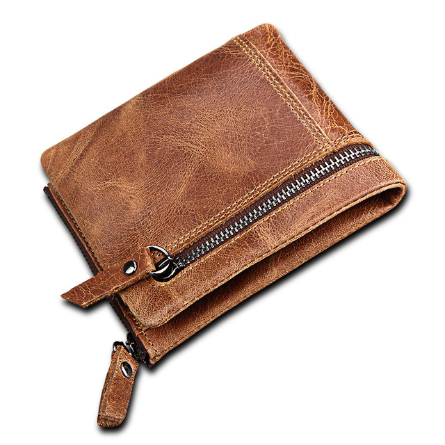 17cc59b2864a US $14.84 47% OFF|2018 New Men's Genuine Leather Wallet Fashion Small Money  Bag Luxury Brand Walet Coin Purse Male Cuzdan Portomonee Pocket-in Wallets  ...